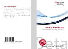 Bookcover of Société Anversoise
