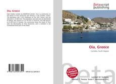 Bookcover of Oia, Greece