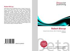 Bookcover of Robert Biscup