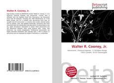 Capa do livro de Walter R. Cooney, Jr.