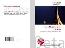 Buchcover von Saint-Nazaire-des-Gardies