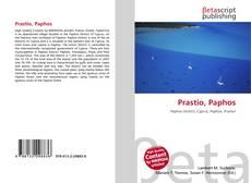 Bookcover of Prastio, Paphos