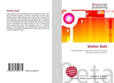 Bookcover of Walter Rabl