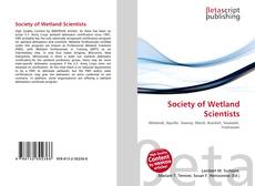Bookcover of Society of Wetland Scientists