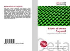 Bookcover of Rhodri ab Owain Gwynedd