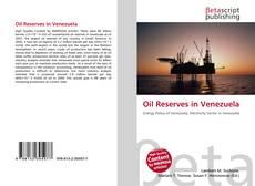 Oil Reserves in Venezuela kitap kapağı