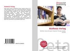 Обложка Aisthesis Verlag
