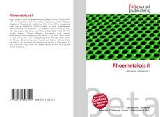 Rhoemetalces II kitap kapağı
