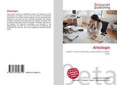 Aitiologie kitap kapağı