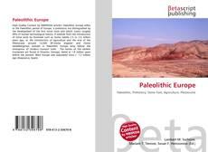 Couverture de Paleolithic Europe