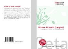 Couverture de Walter Richards (Umpire)