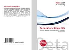 Bookcover of Sociocultural Linguistics