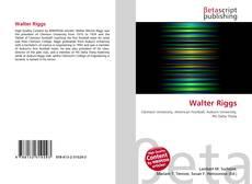 Walter Riggs的封面