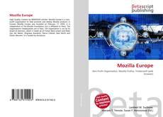 Обложка Mozilla Europe