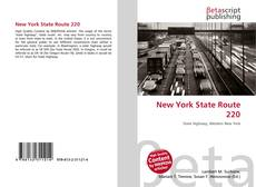 New York State Route 220 kitap kapağı