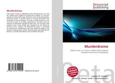 Buchcover von Murderdrome