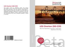 Bookcover of USS Overton (DD-239)