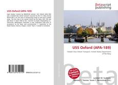 Bookcover of USS Oxford (APA-189)