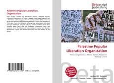 Capa do livro de Palestine Popular Liberation Organization