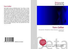 Tom Collier kitap kapağı