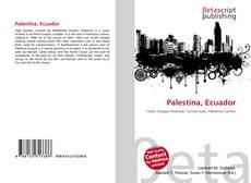Portada del libro de Palestina, Ecuador