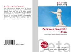 Copertina di Palestinian Democratic Union