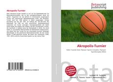 Bookcover of Akropolis-Turnier