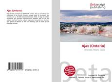 Bookcover of Ajax (Ontario)