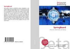 Buchcover von SpringBoard