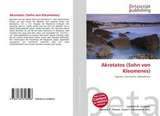 Bookcover of Akrotatos (Sohn von Kleomenes)