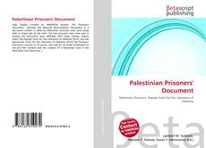 Bookcover of Palestinian Prisoners' Document
