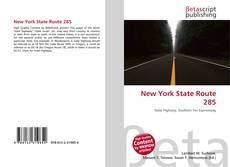 New York State Route 285 kitap kapağı
