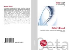 Bookcover of Robert Brout