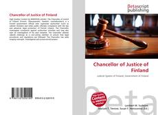 Bookcover of Chancellor of Justice of Finland