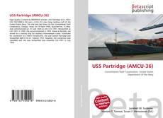 Portada del libro de USS Partridge (AMCU-36)