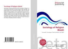 Sociology of Religion (Book) kitap kapağı