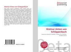 Bookcover of Wolmar Anton von Schlippenbach