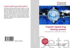 Buchcover von Trapster (speed trap sharing system)