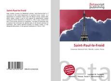 Saint-Paul-le-Froid kitap kapağı