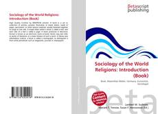 Copertina di Sociology of the World Religions: Introduction (Book)