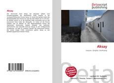 Buchcover von Aksay