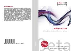 Bookcover of Robert Brian
