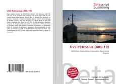 Capa do livro de USS Patroclus (ARL-19)
