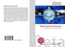 Copertina di Web Content Security