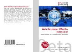 Capa do livro de Web Developer (Mozilla extension)