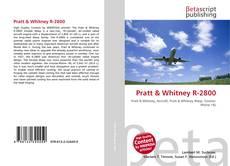 Capa do livro de Pratt & Whitney R-2800