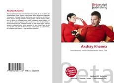Capa do livro de Akshay Khanna