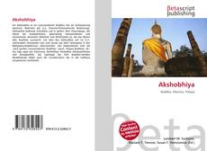 Capa do livro de Akshobhiya