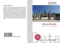 Bookcover of Akt von Gnesen