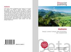 Bookcover of Aixheim